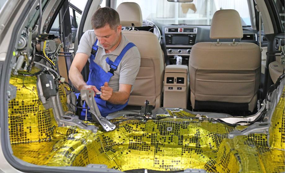 Автомобиля производителя от шумоизоляция купить